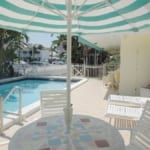 Pineapple Place - pool deck.