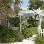 Cottages by the Ocean - Sign and arbor.