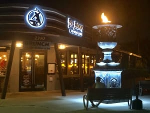 Photo of The Foundry at Night, Home to the Best Happy Hour in Pompano Beach.